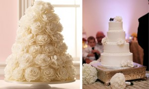 1-chic_white_texturized_winter_wedding_cakes