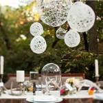 Выездная свадьба с декором из стеклянных шаров