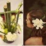 Весенняя прическа невесты