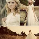 Винтажный стиль невесты