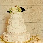 Кресовый торт в стиле винтаж