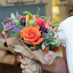 Необычайно-красивый свадебный букет