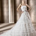 Невеста в платье от Pronovias 2012