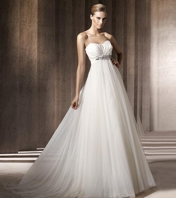 Каталог не пышных свадебных платьев