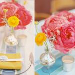 Розовый, желтый и белоснежный