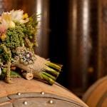 Букет и бутоньерка из полевых цветов