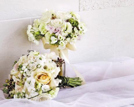 Матиола в свадебном букете