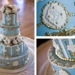 Шикарный свадебный торт
