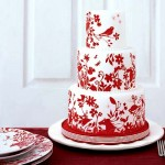 Торт с национальным орнаментом