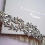 Подвязки для невесты от Florrie Mitton