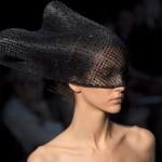 Черная фата от Armani, для необычной невесты