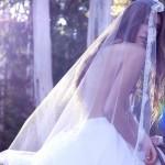 Идеальная фата для выездной свадьбы
