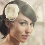 Пышный светлый цветок для невесты