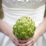 Свадебный букет из артишока