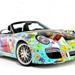 Беззаботные веселые краски на авто