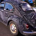 Роспись друзей и знакомых на твоем автомобиле