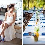 Яркий акцент - туфельки невесты