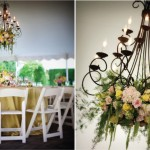 Цветы мягких оттенков в свадебном декоре