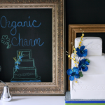 Для свадьбы в синей цветовой гамме