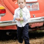 Малыш на свадьбе в стиле casual