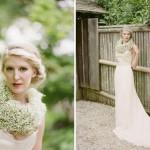 Невеста в цветочном ожерелье