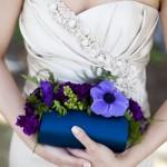 Маленькая синяя сумочка