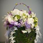 Необычный декор сумочки невесты