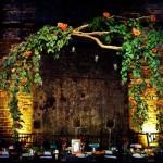 Подвесные украшения из листвы