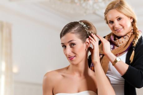 Свадебный парикмахер