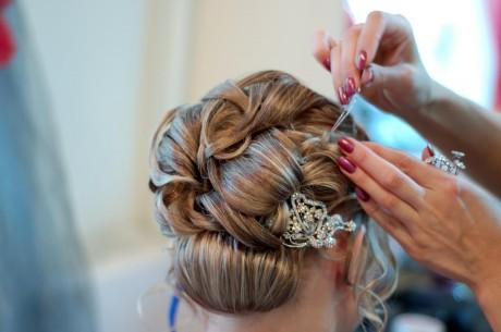 Свадебный парикмахер для невесты