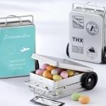 Бонбоньерки стилизованные под чемоданчики