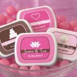Бонбоньерки из коробочек розовых оттенков