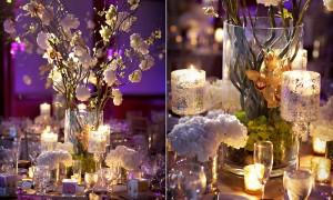 Идея дня: свечи в оформлении банкетных столов