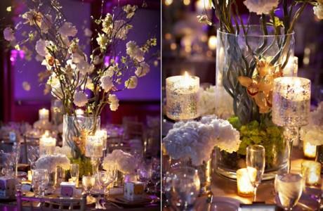 Свадебный декор и свечи