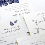 Приглашения на свадьбу с ежевикой