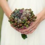 Букет невесты из ежевики