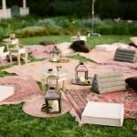 Свадебный пикник в восточном стиле