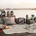 Свадебный пикник с корабельным декором