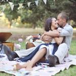 Свадебный пикник для двоих в музыкальном стиле