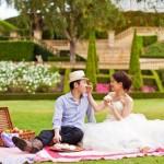 Свадебный пикник для двоих на ранчо