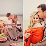 Свадебный пикник для двоих с романтической гитарой