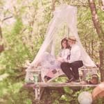 Свадебный пикник для двоих в стиле винтаж