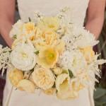 Нежно-желтый цветочный ансамбль