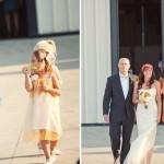 В оранжевом и невеста, и свидетельница