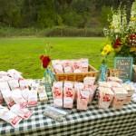 Закуски для свадебного пикника