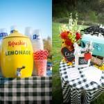 Напитки для свадебного пикника