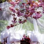 Свадебный пикник в сиреневом цвете