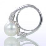 Жемчужное кольцо для невесты