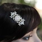 Невесты с жемчужной заколкой в волосах