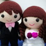 Свадебные куклы в япоском стиле